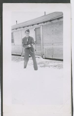 Primary view of object titled '[Soldier in Snow]'.