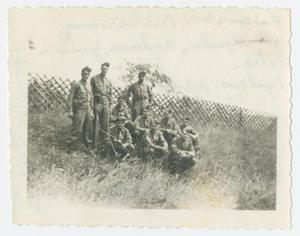 Primary view of object titled '[Soldiers on a Hill]'.