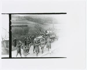 Primary view of object titled '[German Prisoners on Road]'.