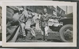 Primary view of object titled '[Soldiers by Vehicle]'.