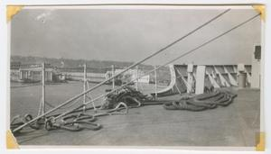 Primary view of object titled '[Piers of New York City]'.