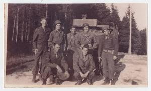 Primary view of object titled '[Soldiers in Germany]'.