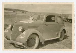 Primary view of object titled '[Lester Johnson's Car]'.