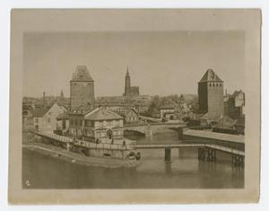 Primary view of object titled '[Strasbourg Skyline]'.
