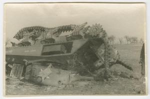 Primary view of object titled '[Wrecked Tank]'.