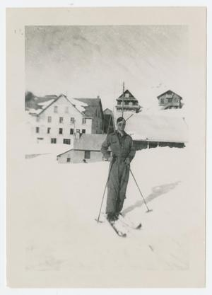Primary view of object titled '[Wassell on Skis]'.