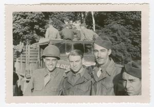 Primary view of object titled '[Soldiers with a Truck]'.