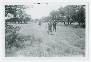 Primary view of object titled '[Soldiers on a Field Exercise]'.