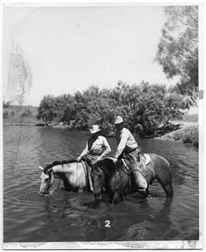 Primary view of object titled 'Cowboys Crossing River'.