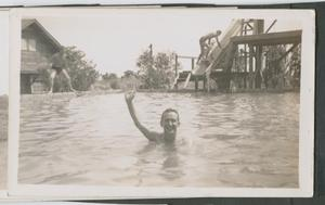 Primary view of object titled '[William Jenkins Swimming]'.