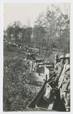 Primary view of object titled '[494th AFA Convoy]'.