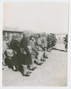 Primary view of object titled '[Soldiers After a Road March]'.