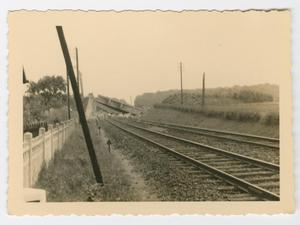 Primary view of object titled '[A Destroyed Bridge]'.