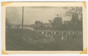 Primary view of object titled '[Bridges Over a River]'.