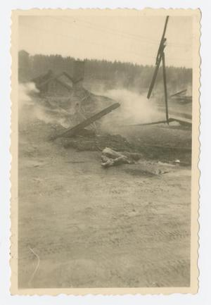 Primary view of object titled '[Ruins of Landsberg Concentration Camp]'.
