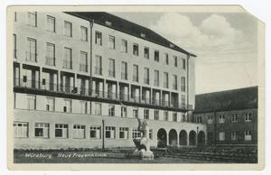 Primary view of object titled 'Würzburg, Neue Frauenklinik'.