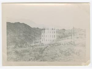 Primary view of object titled '[Texas College of Mines and Metallurgy Building]'.