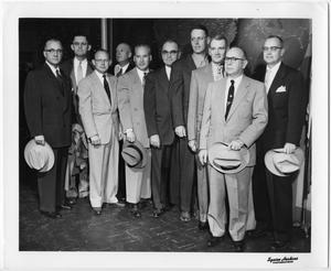 Primary view of object titled 'Ten Men in Suits'.