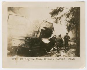 Primary view of object titled '12th AD Fights Near Colmar Pocket'.