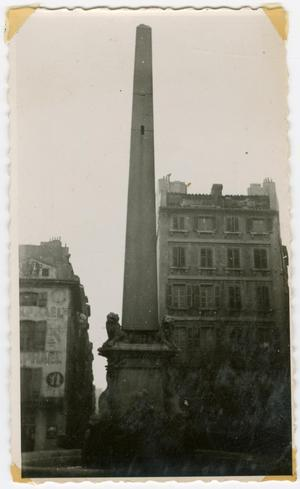 Primary view of object titled '[Memorial Obelisk]'.