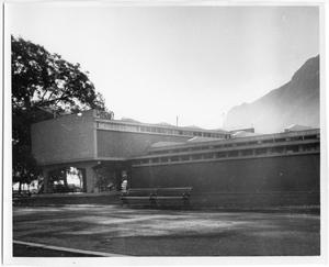 Primary view of object titled '[Photograph of School in Mexico]'.