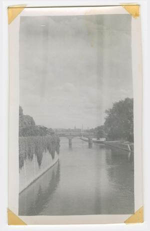 Primary view of object titled '[Bridge Over the Seine River]'.