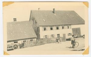 Primary view of object titled '[Farmhouse in Nattheim, Germany]'.
