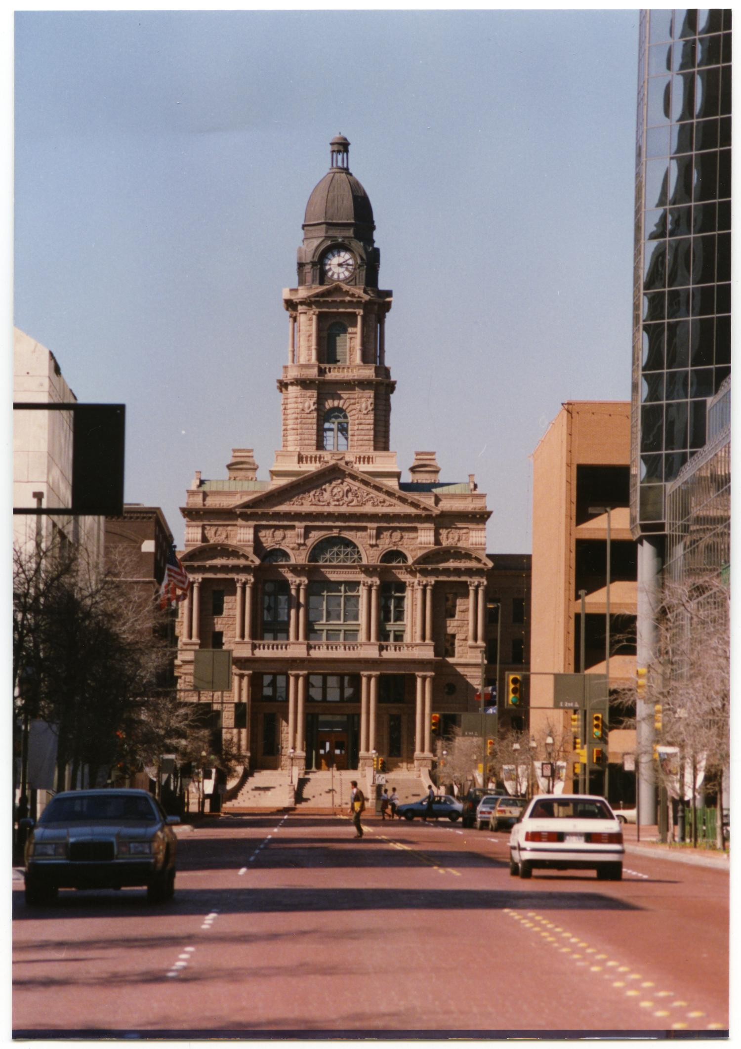 Tarrant County Courthouse In Fort Worth The Portal To