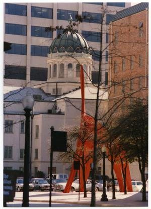 Primary view of object titled '[The Eagle in Downtown Fort Worth]'.