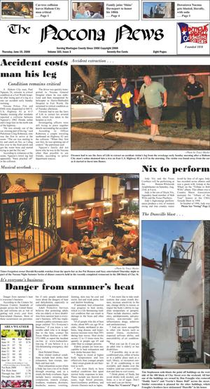 Primary view of object titled 'The Nocona News (Nocona, Tex.), Vol. 103, No. 4, Ed. 1 Thursday, June 26, 2008'.