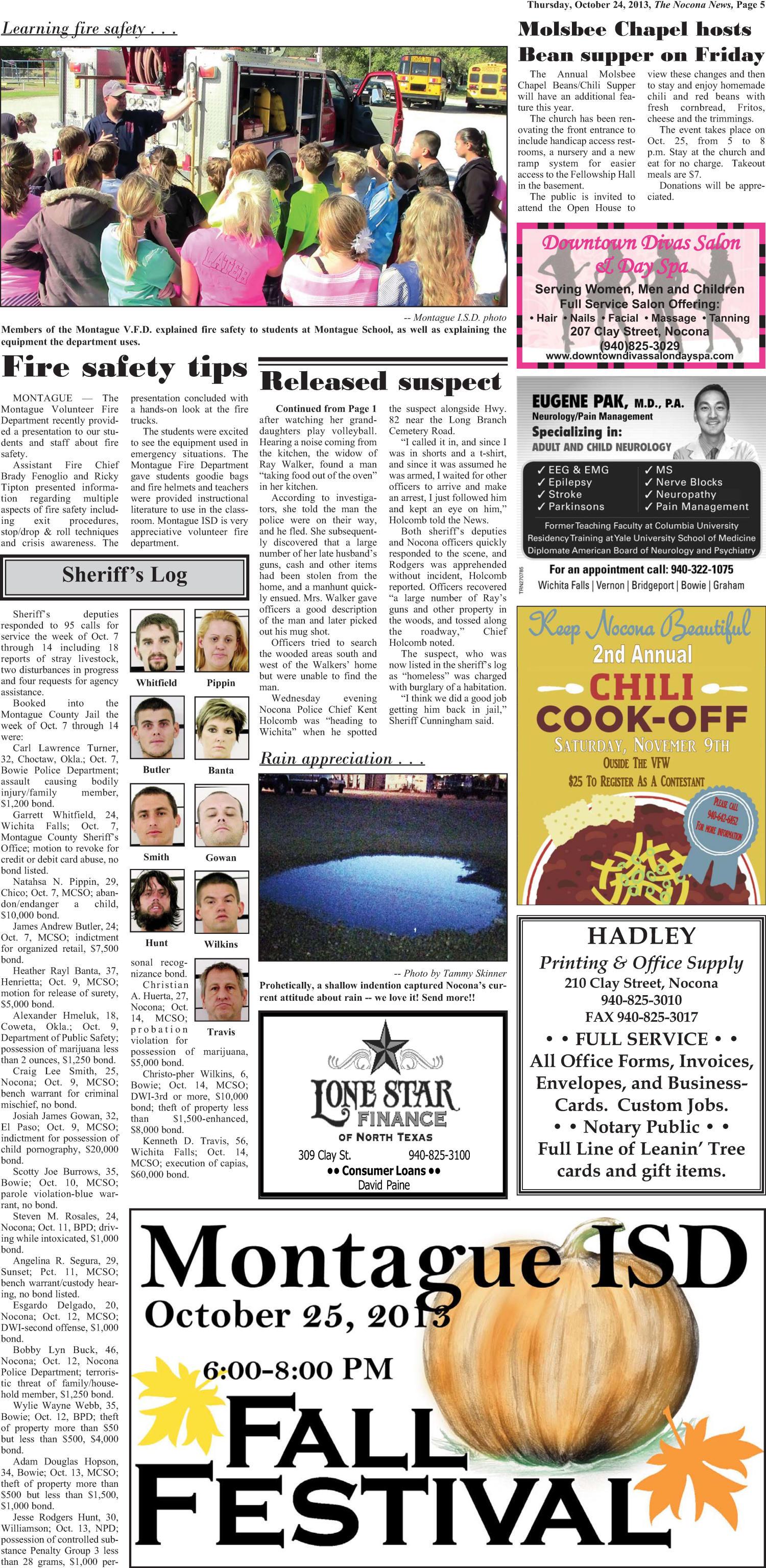 The Nocona News (Nocona, Tex ), Vol  109, No  20, Ed  1