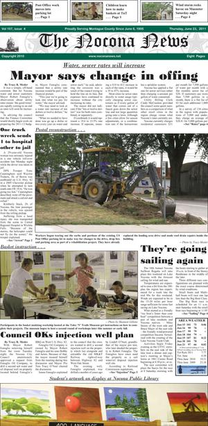 Primary view of object titled 'The Nocona News (Nocona, Tex.), Vol. 107, No. 4, Ed. 1 Thursday, June 23, 2011'.