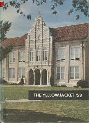The Yellow Jacket, Yearbook of Thomas Jefferson High School, 1958