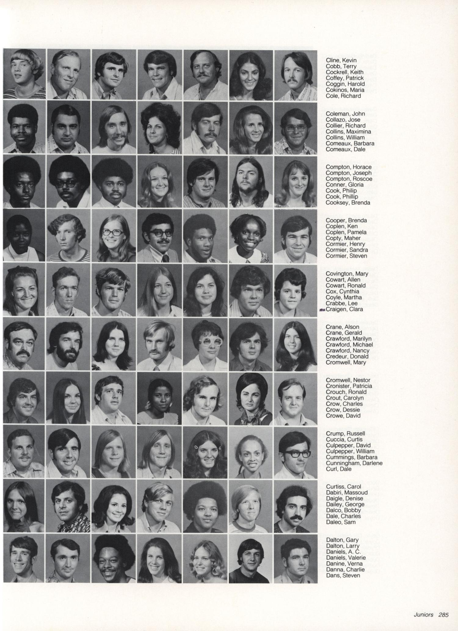 The Cardinal, Yearbook of Lamar University, 1973 - Page 285