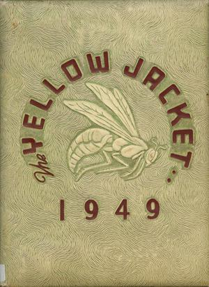 Primary view of object titled 'The Yellow Jacket, Yearbook of Thomas Jefferson High School, 1949'.