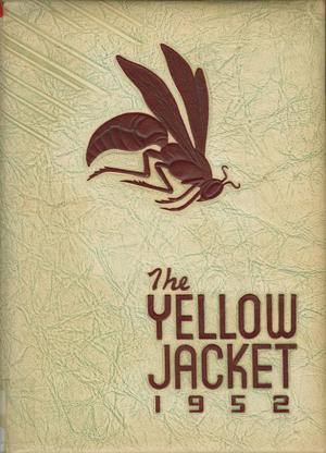 Primary view of object titled 'The Yellow Jacket, Yearbook of Thomas Jefferson High School, 1952'.