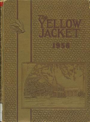 Primary view of object titled 'The Yellow Jacket, Yearbook of Thomas Jefferson High School, 1956'.