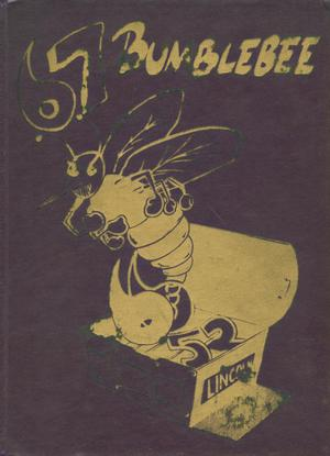 Primary view of object titled 'The Bumblebee, Yearbook of Lincoln High School, 1967'.