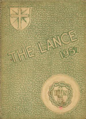 Primary view of object titled 'The Lance, Yearbook of Sacred Heart High School, 1957'.
