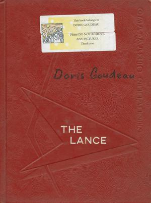 The Lance, Yearbook of Sacred Heart High School, 1962