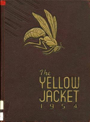 Primary view of object titled 'The Yellow Jacket, Yearbook of Thomas Jefferson High School, 1954'.