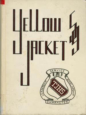 Primary view of object titled 'The Yellow Jacket, Yearbook of Thomas Jefferson High School, 1959'.