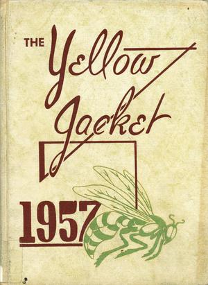 Primary view of object titled 'The Yellow Jacket, Yearbook of Thomas Jefferson High School, 1957'.