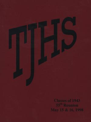 Primary view of object titled '[Thomas Jefferson High School Classes of 1943 55-Year Reunion]'.