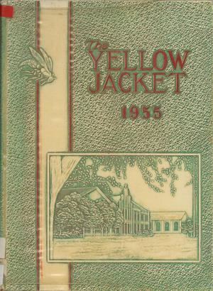 The Yellow Jacket, Yearbook of Thomas Jefferson High School, 1955