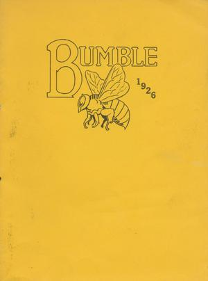 Primary view of object titled 'The Bumblebee, Yearbook of Lincoln High School, 1926'.