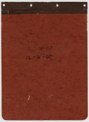 Primary view of object titled '[News Story Log: July 1 to December 31, 2007]'.
