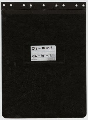 Primary view of object titled '[News Story Log: January 1 to June 30, 2011]'.