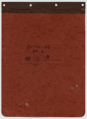 Primary view of object titled '[News Story Log: January 1 to June 30, 2008]'.