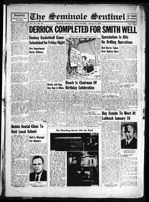 Primary view of object titled 'The Seminole Sentinel (Seminole, Tex.), Vol. 33, No. 48, Ed. 1 Thursday, January 9, 1941'.